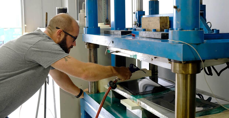 composite heat press
